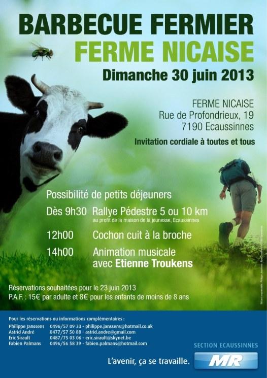 BBQ fermier ferme Nicaise 30 juin Bbq_MR2013