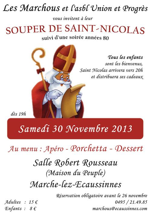 St Nicolas chez les Marchous le samedi 30 novembre. Saint_nicolas_2013_web